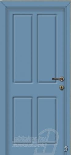 5. számú festett beltéri ajtó minta