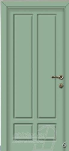 6. számú festett beltéri ajtó minta