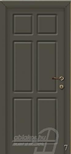 7. számú festett beltéri ajtó minta