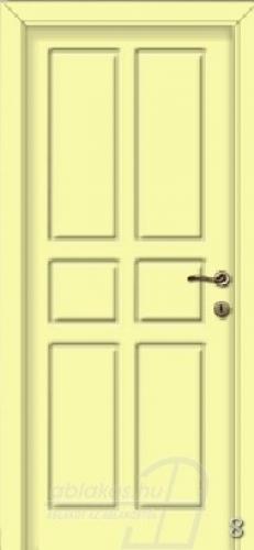 8. számú festett beltéri ajtó minta