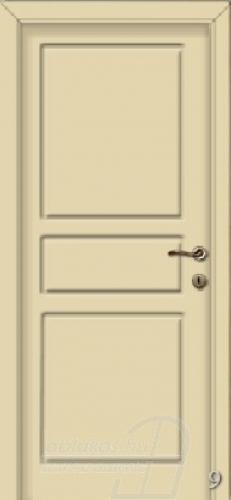 9. számú festett beltéri ajtó minta