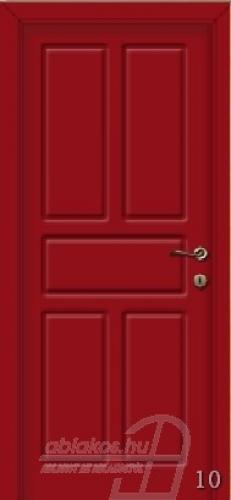 10. számú festett beltéri ajtó minta