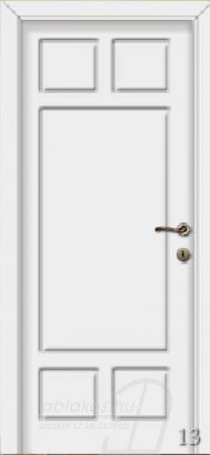 13. számú festett beltéri ajtó minta