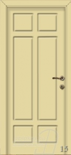 15. számú festett beltéri ajtó minta
