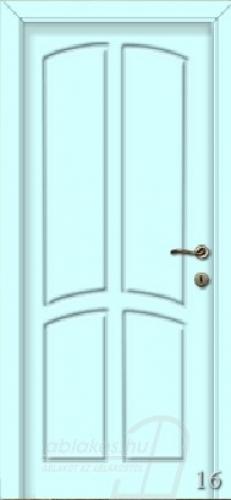 16. számú festett beltéri ajtó minta
