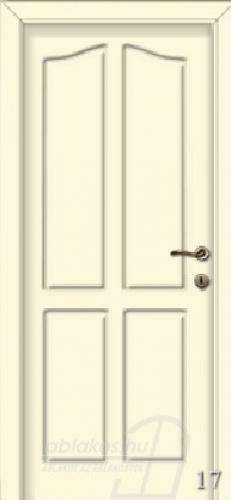 17. számú festett beltéri ajtó minta