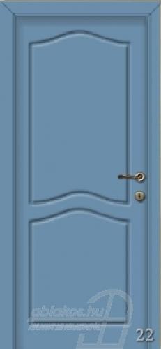 22. számú festett beltéri ajtó minta