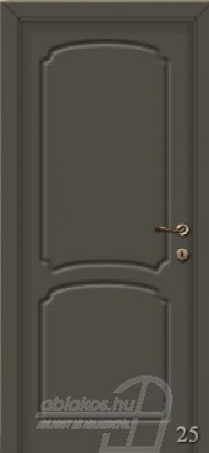 25. számú festett beltéri ajtó minta