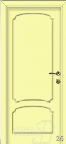 26. számú festett beltéri ajtó minta