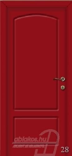 28. számú festett beltéri ajtó minta