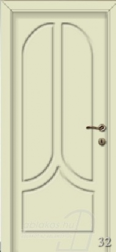32. számú festett beltéri ajtó minta
