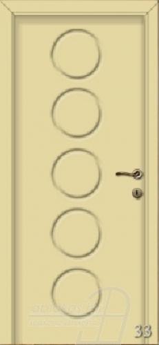 33. számú festett beltéri ajtó minta