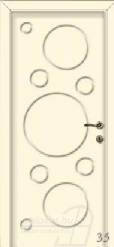 35. számú festett beltéri ajtó minta