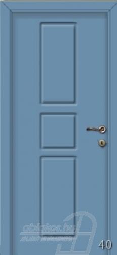 40. számú festett beltéri ajtó minta