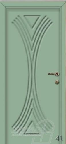 41. számú festett beltéri ajtó minta