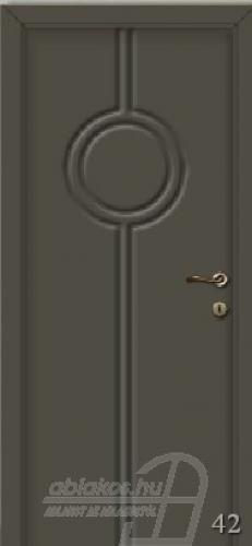 42. számú festett beltéri ajtó minta