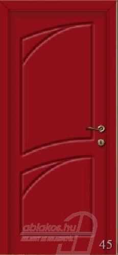 45. számú festett beltéri ajtó minta