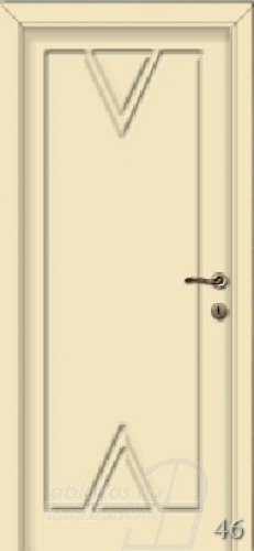 46. számú festett beltéri ajtó minta