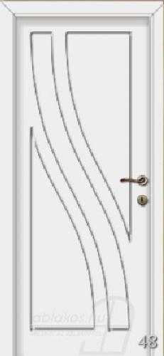 48. számú festett beltéri ajtó minta