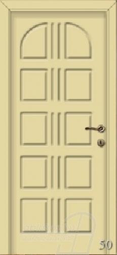 50. számú festett beltéri ajtó minta