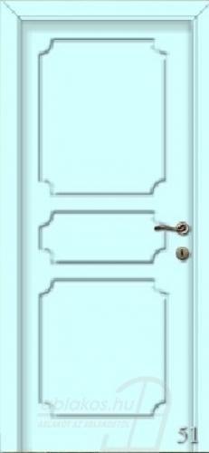 51. számú festett beltéri ajtó minta