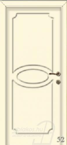 52. számú festett beltéri ajtó minta