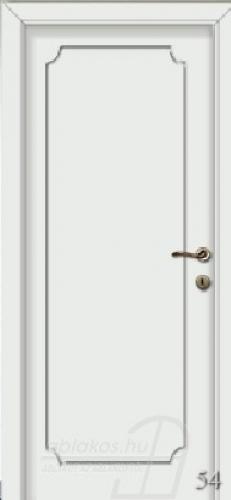 54. számú festett beltéri ajtó minta