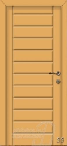 55. számú festett beltéri ajtó minta