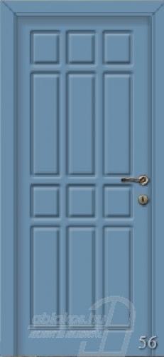 56. számú festett beltéri ajtó minta
