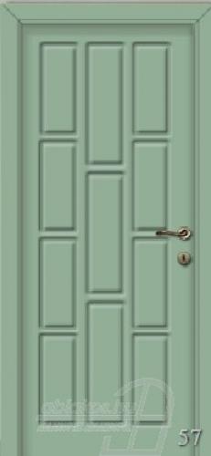 57. számú festett beltéri ajtó minta