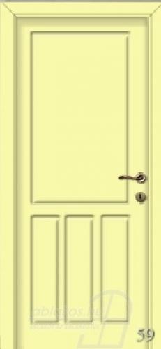 59. számú festett beltéri ajtó minta