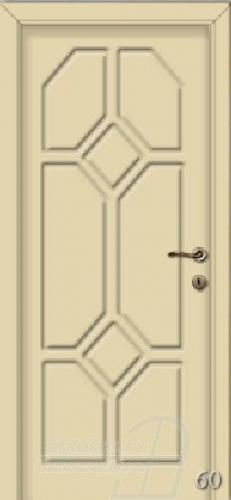 60. számú festett beltéri ajtó minta