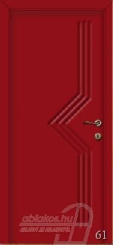 61. számú festett beltéri ajtó minta