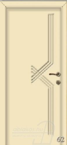 62. számú festett beltéri ajtó minta