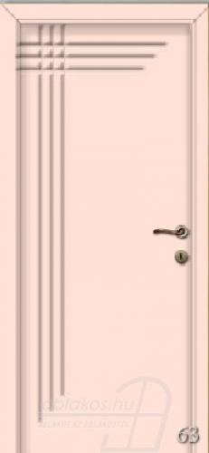 63. számú festett beltéri ajtó minta