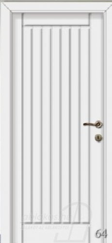 64. számú festett beltéri ajtó minta