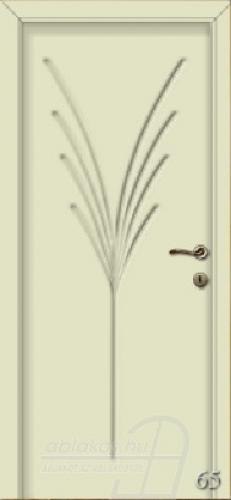 65. számú festett beltéri ajtó minta