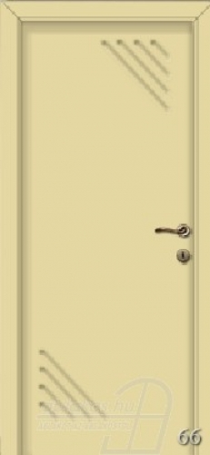 66. számú festett beltéri ajtó minta