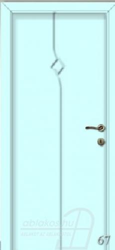 67. számú festett beltéri ajtó minta