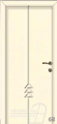 68. számú festett beltéri ajtó minta