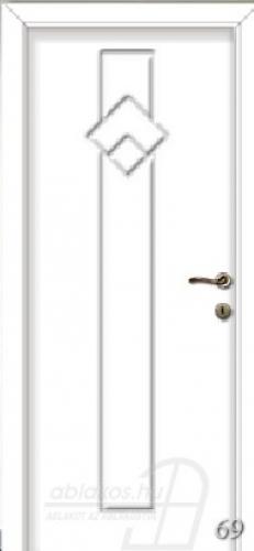 69. számú festett beltéri ajtó minta