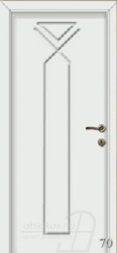 70. számú festett beltéri ajtó minta