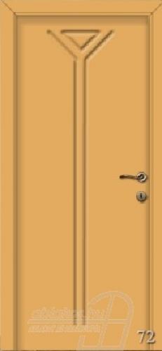 72. számú festett beltéri ajtó minta