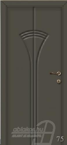 75. számú festett beltéri ajtó minta