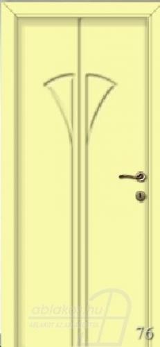 76. számú festett beltéri ajtó minta