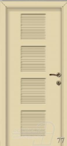77. számú festett beltéri ajtó minta