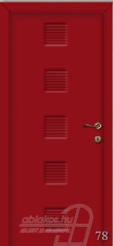 78. számú festett beltéri ajtó minta
