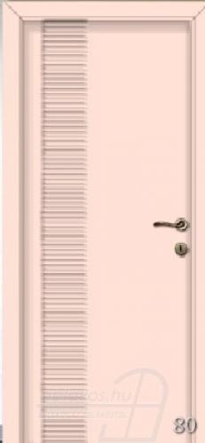 80. számú festett beltéri ajtó minta