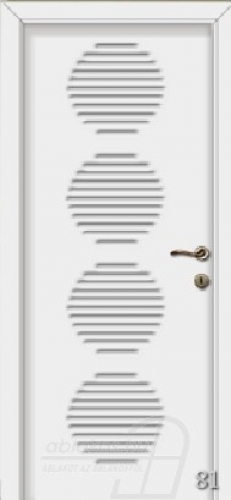 81. számú festett beltéri ajtó minta