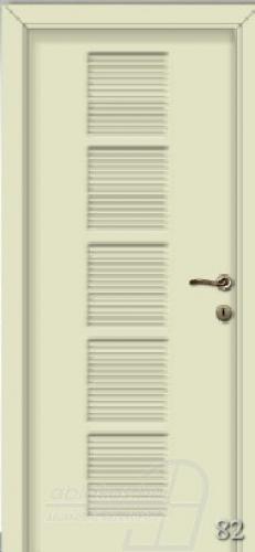 82. számú festett beltéri ajtó minta